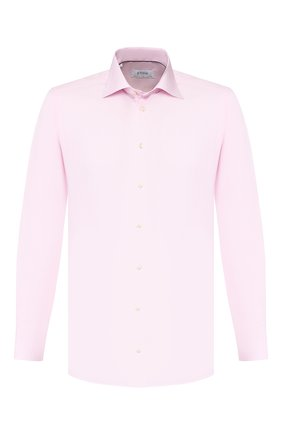 Мужская хлопковая сорочка ETON розового цвета, арт. 1000 00084 | Фото 1