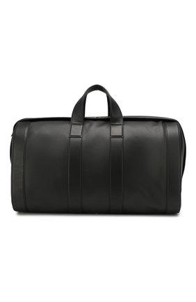 Мужская кожаная дорожная сумка BOTTEGA VENETA черного цвета, арт. 573486/VMAW2 | Фото 1