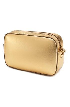 Детская кожаная сумка DOLCE & GABBANA золотого цвета, арт. EB0210/AI249 | Фото 2