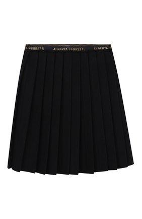 Плиссированная юбка из шерсти | Фото №2
