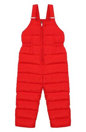 Детский пуховый комбинезон IL GUFO красного цвета, арт. A19ST007N0031/5A-8A | Фото 1