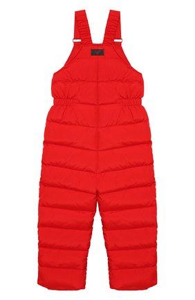 Детский пуховый комбинезон IL GUFO красного цвета, арт. A19ST007N0031/5A-8A | Фото 2