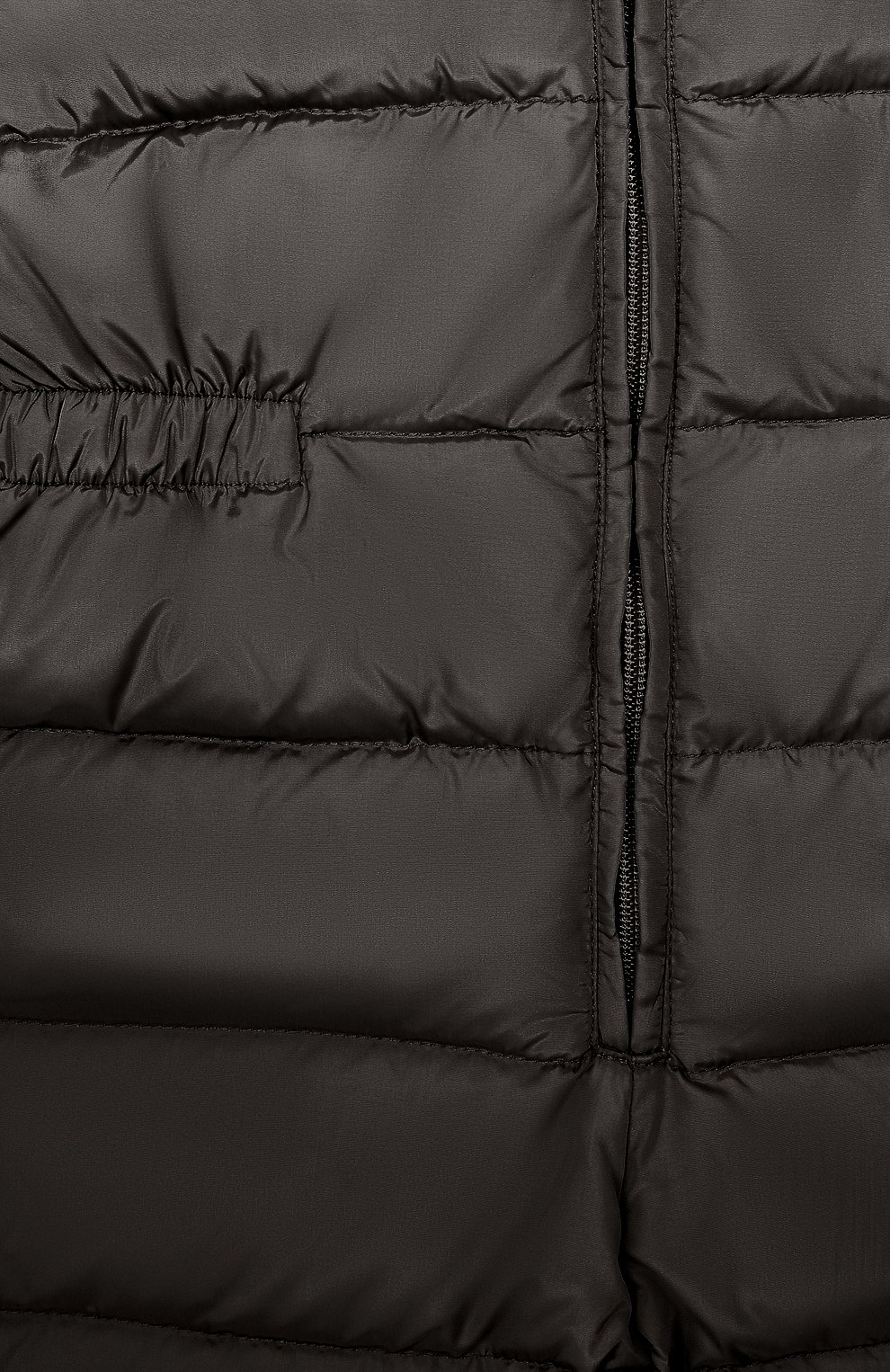 Детский пуховый комбинезон IL GUFO черного цвета, арт. A19ST007N0031/5A-8A | Фото 3