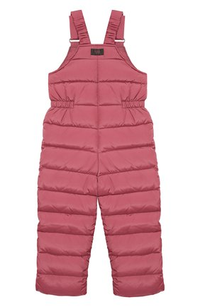 Детский пуховый комбинезон IL GUFO розового цвета, арт. A19ST007N0031/2A-4A | Фото 2