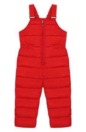 Детский пуховый комбинезон IL GUFO красного цвета, арт. A19ST007N0031/2A-4A | Фото 1