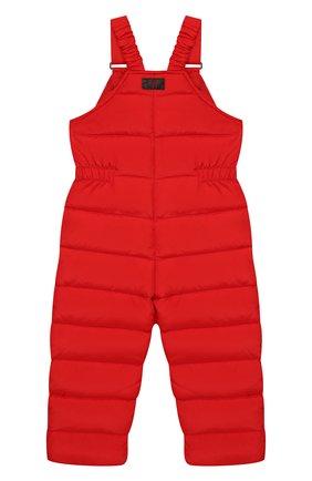 Детский пуховый комбинезон IL GUFO красного цвета, арт. A19ST007N0031/2A-4A | Фото 2