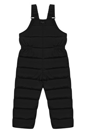Детский пуховый комбинезон IL GUFO черного цвета, арт. A19ST007N0031/2A-4A | Фото 2