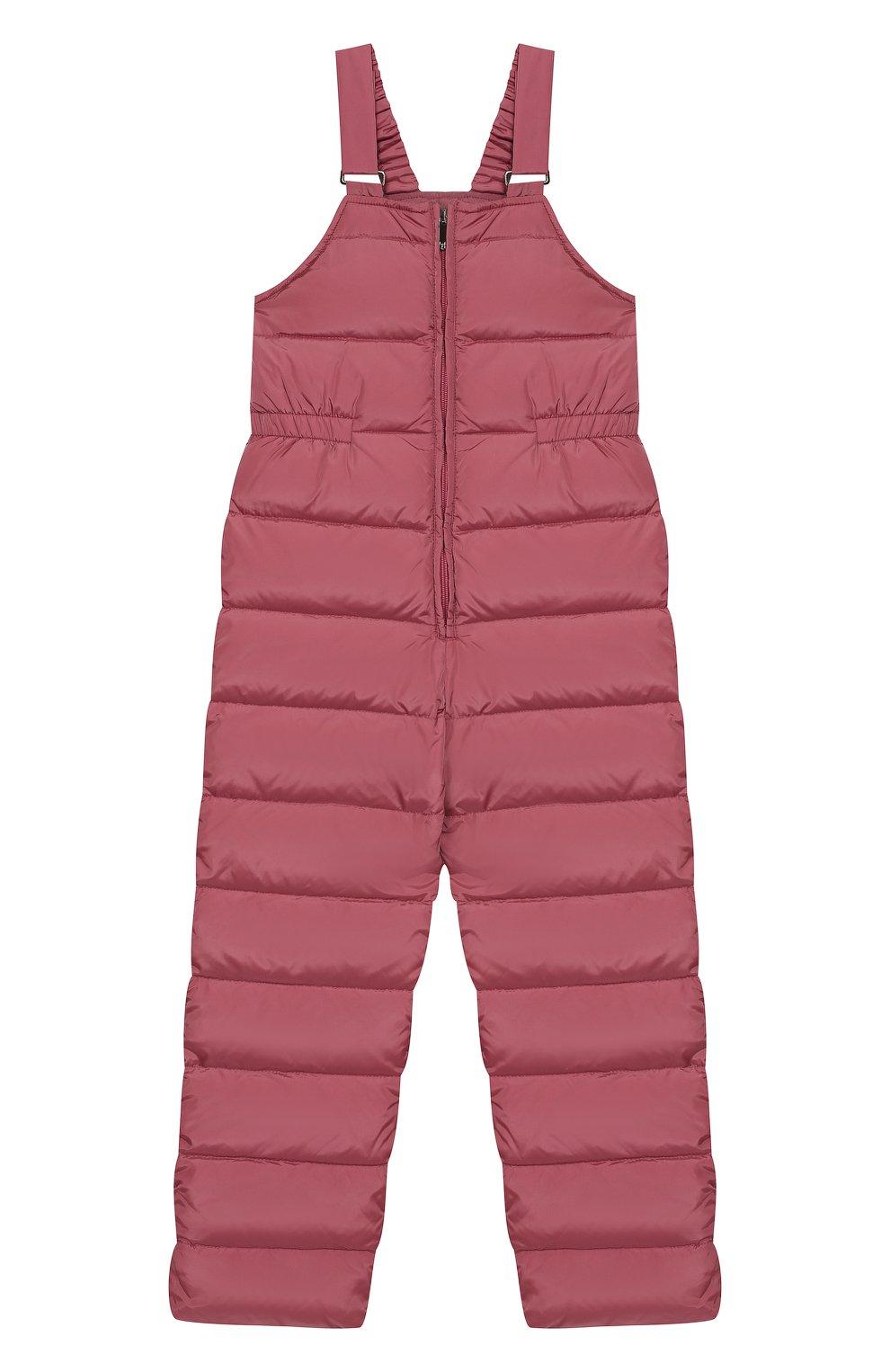Детский пуховый комбинезон IL GUFO розового цвета, арт. A19ST007N0031/10A-12A | Фото 1