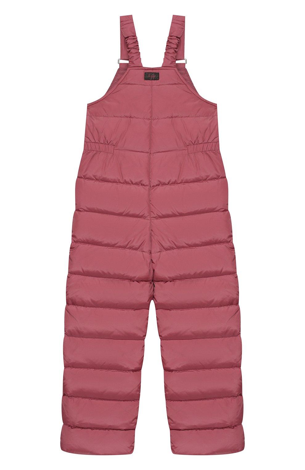 Детский пуховый комбинезон IL GUFO розового цвета, арт. A19ST007N0031/10A-12A | Фото 2