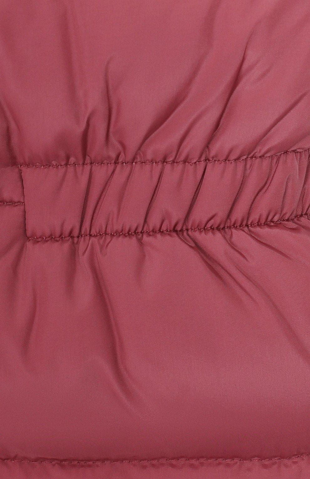 Детский пуховый комбинезон IL GUFO розового цвета, арт. A19ST007N0031/10A-12A | Фото 3