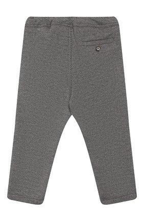 Детские хлопковые брюки IL GUFO серого цвета, арт. A19PL261M5031/5A-8A | Фото 2