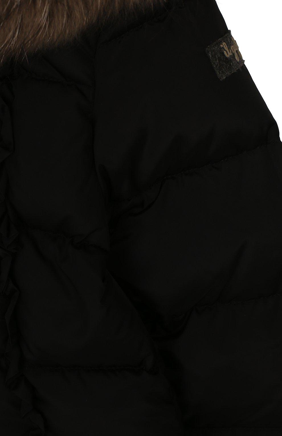 Пуховик с капюшоном | Фото №3