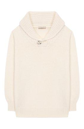 Детский свитер KUXO белого цвета, арт. V806-500U/8A-12A | Фото 1