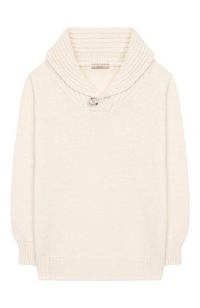 Детский свитер KUXO белого цвета, арт. V806-500U/2A-6A | Фото 1