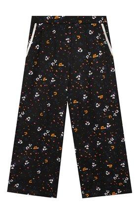 Детского брюки свободного кроя PAADE MODE черного цвета, арт. 94105/6M-8Y | Фото 1