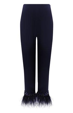 Женские брюки JENNY PACKHAM темно-синего цвета, арт. KKP103 | Фото 1