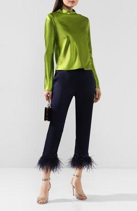 Женские брюки JENNY PACKHAM темно-синего цвета, арт. KKP103 | Фото 2
