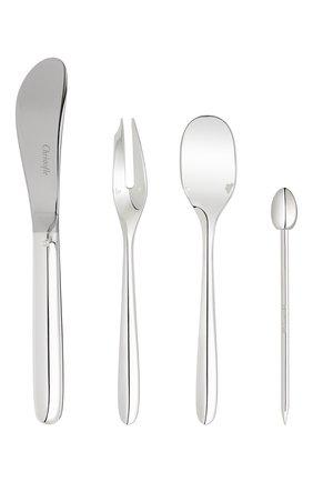 Мужского набор приборов для закусок mood party на 6 персон CHRISTOFLE серебряного цвета, арт. 00065599 | Фото 5