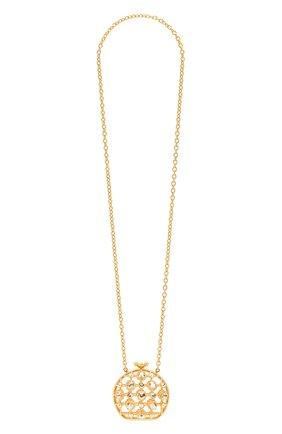 Женское колье DOLCE & GABBANA золотого цвета, арт. BI1328/AJ169 | Фото 1