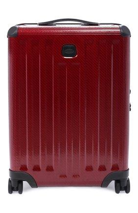Женский дорожный чемодан venezia 21″ BRIC`S красного цвета, арт. BZI08381 | Фото 1