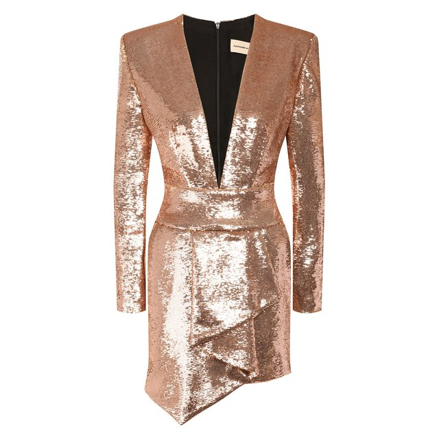 Платье с пайетками ALEXANDRE VAUTHIER 10623134