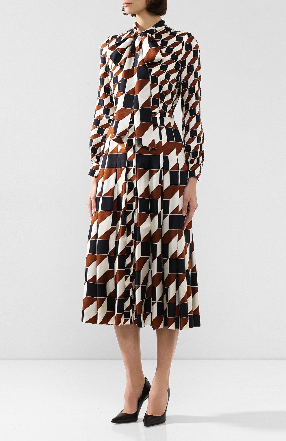 Шелковое платье | Фото №3