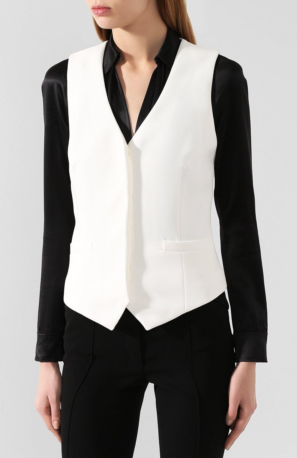 Женский жилет BARBARA BUI белого цвета, арт. U1421EEA | Фото 3
