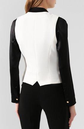 Женский жилет BARBARA BUI белого цвета, арт. U1421EEA | Фото 4