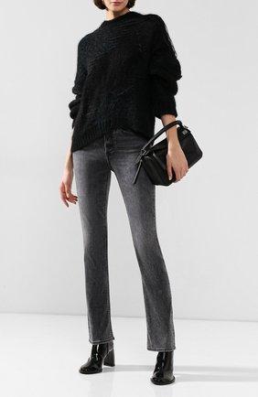 Женские джинсы 3X1 серого цвета, арт. WP0070921/AGD0N | Фото 2
