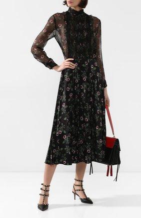 Женская кожаные туфли valentino garavani rockstud VALENTINO черного цвета, арт. SW2S0375/VCE | Фото 2