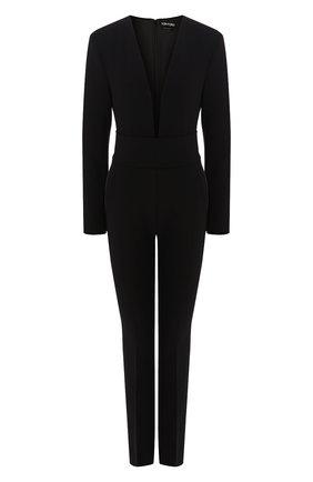 Женский шерстяной комбинезон TOM FORD черного цвета, арт. TU0217-FAX431 | Фото 1