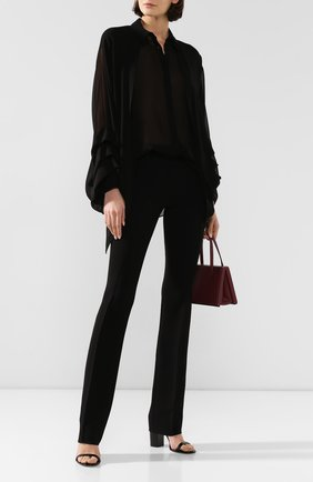 Женские брюки BARBARA BUI черного цвета, арт. U7629EEA | Фото 2