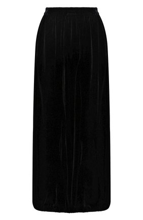 Женские брюки из смеси вискозы и шелка GIORGIO ARMANI черного цвета, арт. 9WHPP09B/T01FD | Фото 1 (Женское Кросс-КТ: Брюки-одежда; Силуэт Ж (брюки и джинсы): Широкие; Материал внешний: Вискоза; Статус проверки: Проверена категория)