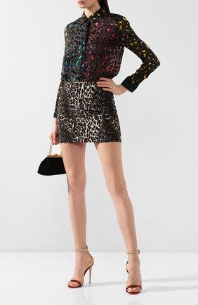 Женская блузка из смеси вискозы и шелка ALICE + OLIVIA разноцветного цвета, арт. CC908B62034   Фото 2