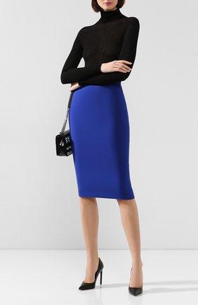 Женская юбка VICTORIA BECKHAM синего цвета, арт. SK PEN 31118 | Фото 2