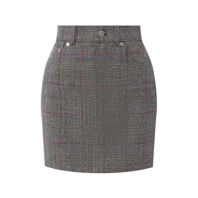 Шерстяная юбка Helmut Lang