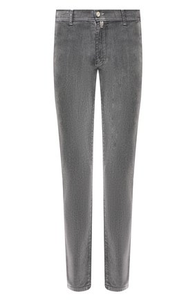 Мужские джинсы KITON серого цвета, арт. UFPPTM/J03S94 | Фото 1