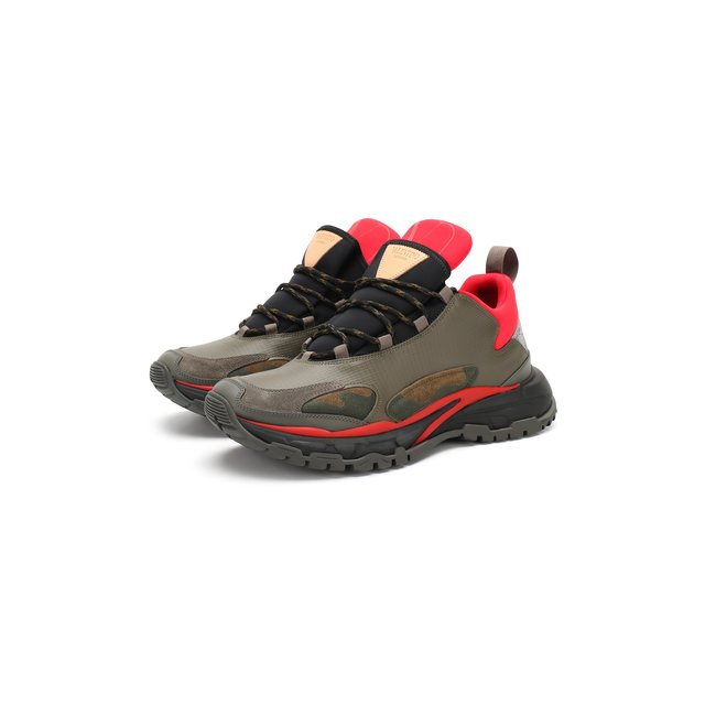 Комбинированные кроссовки Valentino Garavani Trekking Valentino — Комбинированные кроссовки Valentino Garavani Trekking