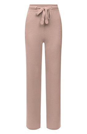Женские кашемировые брюки LORO PIANA розового цвета, арт. FAI6763   Фото 1