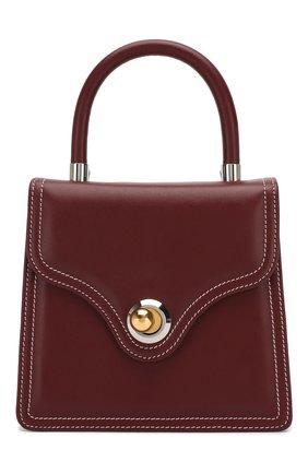 Женская сумка lady RATIO ET MOTUS бордового цвета, арт. REM19FWLB0X-S/G | Фото 1