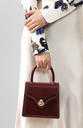 Женская сумка lady RATIO ET MOTUS бордового цвета, арт. REM19FWLB0X-S/G | Фото 2