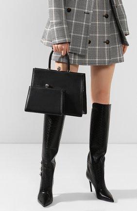 Женская сумка twin frame RATIO ET MOTUS черного цвета, арт. REM19FWTFBK-SL | Фото 2