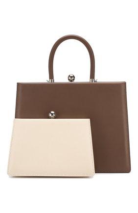 Женская сумка twin frame RATIO ET MOTUS серого цвета, арт. REM19FWTFEP-SL | Фото 1