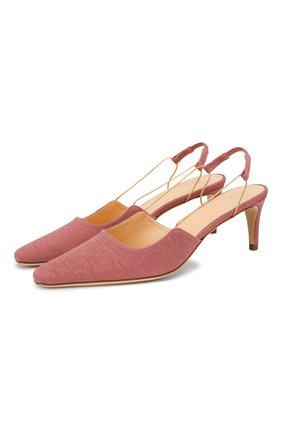 Текстильные туфли Gabriella | Фото №1