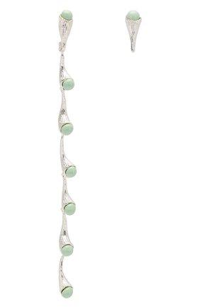 Асимметричные серьги Acorn  | Фото №1