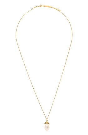 Женская кулон на цепочке HANKA_IN золотого цвета, арт. ECH-C0-PEB | Фото 1