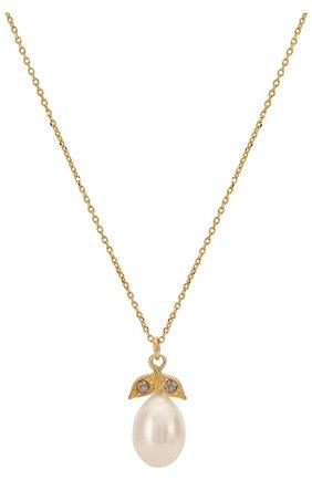 Женская кулон на цепочке HANKA_IN золотого цвета, арт. ECH-C0-PEB | Фото 2
