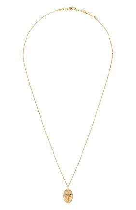 Женская кулон на цепочке HANKA_IN золотого цвета, арт. H0P-C039-MVI | Фото 1