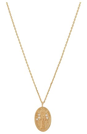 Женская кулон на цепочке HANKA_IN золотого цвета, арт. H0P-C039-MVI | Фото 2