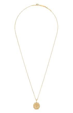 Женская кулон на цепочке HANKA_IN золотого цвета, арт. H0P-C042-MVIT | Фото 1